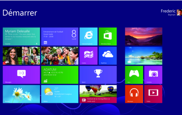 Windows 8 et les applications e-commerce