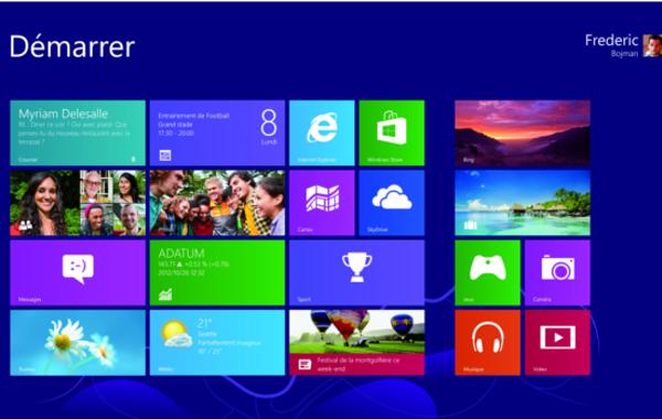 Windows 8 et les applications e-commerce