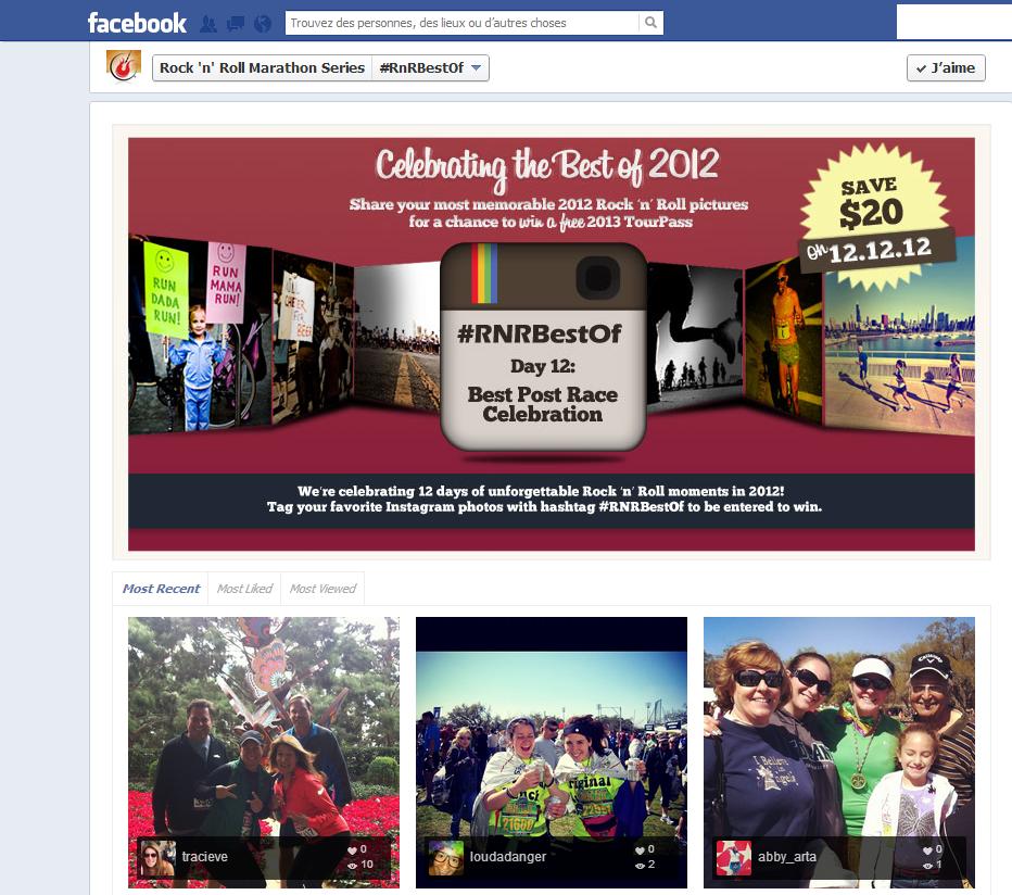 FB concours pour publi