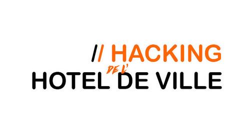 """50 startup au """"Hacking de l'Hôtel de ville"""""""